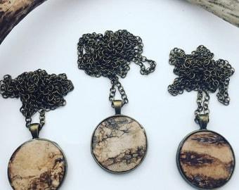 Bark Woodland Necklace