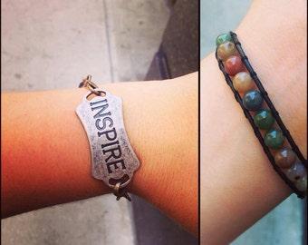 Inspire Connector - Beaded Bracelet