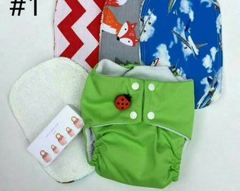 Reusable Baby Wipes - Wash Cloth - Cleaning Cloth - Environmentally Friendly - Set of 3
