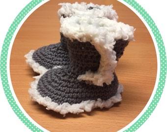 Wool baby Uggies