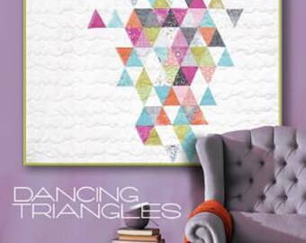 Dancing Triangles Pattern by Zen Chic