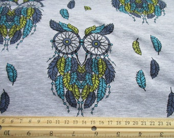 Limited edition owls and dremcatchers loop knit sweatshirt