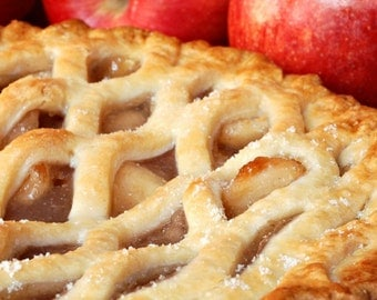 Hot Baked Apple Pie - Ultra-Strong Fragrance Oil - 1 oz - Candles