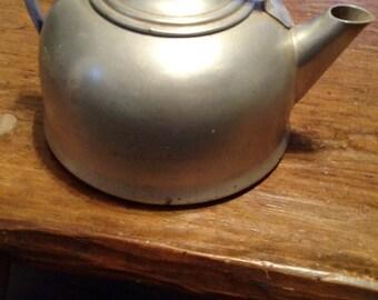 Mirro aluminum 5 qt teapot vintage