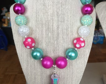 Chunky Shopkins inspired necklace-