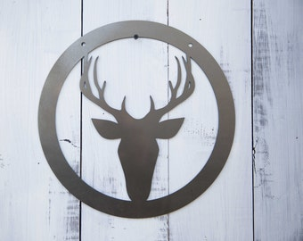 Trophy Buck Steel Art