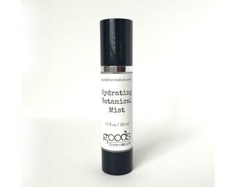 Hydrating Botanical Mist - Organic Face Mist - Organic Toner - Toning Mist