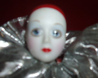 Vintage 16 inch clown doll