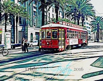New Orleans Street Car, Canal Street