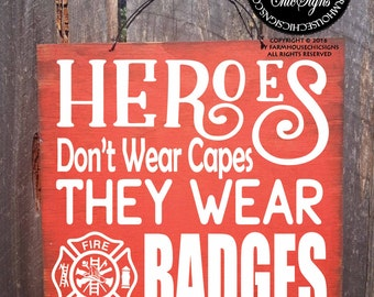 firefighter, firefighter gift, firefighter home, firefighter sign, firefighter decor, firefighter decoration, firefighter hero, heroes badge