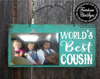 gift for cousin cousin gift cousin worlds best cousin cousin picture frame christmas gift for cousin birthday gift for cousin 221