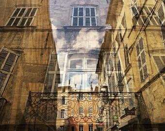 Aix en provence etsy for Decoration rocaille aixen provence