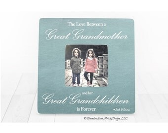 mothers day gift for great grandma gift personalized picture frame grandmother frame great grandparent gift from grandchildren
