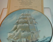 1983 Fleetwood Collection Flying Cloud Golden Age of Sail Plate w/ COA