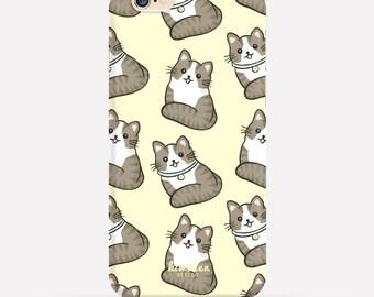 Cat iPhone Case, iPhone 6 Case, iPhone 7 Case, iPhone 6 Plus Case, iPhone 7 Plus Case, iPhone 6s Case, iPhone 5c Case, S6 Case, Cat Case