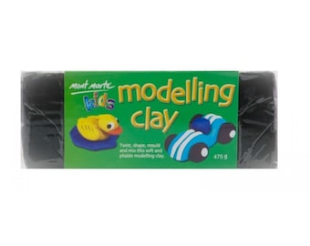 Mont Marte Kids Modelling 475g - BLACK amazing Art and Crafts for Children copy