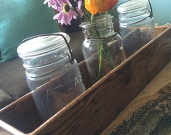 Centerpiece Boxes, Rustic Planter Boxes, Reclaimed Wood Boxes