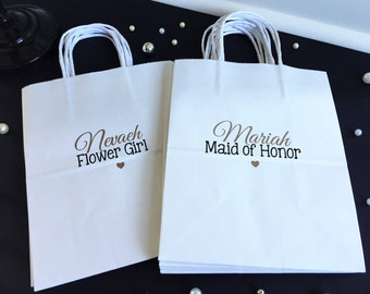 Wedding Gift Bags For Bridal Party : party gift bag bridesmaid gift wedding party gift thank you gift bag ...