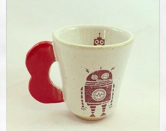 Mr. Roboto- Espresso Cup