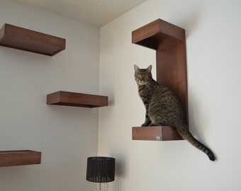 shelves for cat- Package of three by HUVE collection