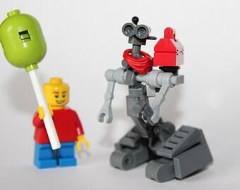 Custom Short Circuit Lego - Johnny 5 He's Alive!