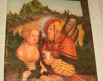 Art Print Folio ~ Lucas Cranach ~ The 10 Commandments ~ All in German