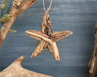 Driftwood Starfish  / Small Coastal Decor / Ornament