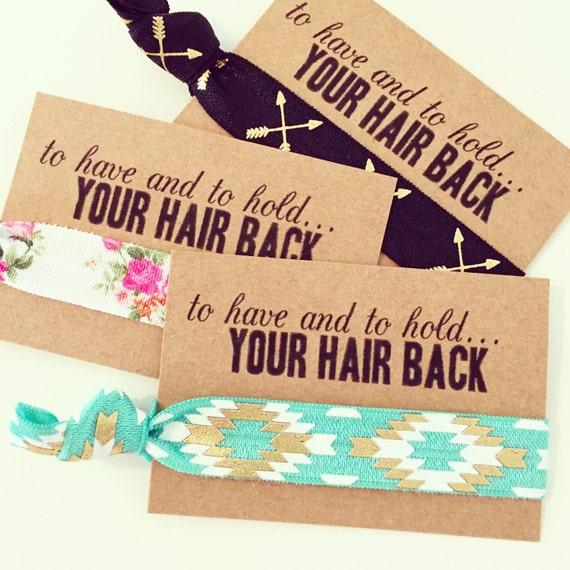 ASSORTED BOHO Hair Tie Favors   Boho Bachelorette Hair Ties, Bride Tribe Bohemian Bachelorette Hair Tie Favor, Turquoise Gold Aztec Tribal
