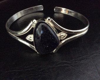 Dazzling Goldstone Bracelet