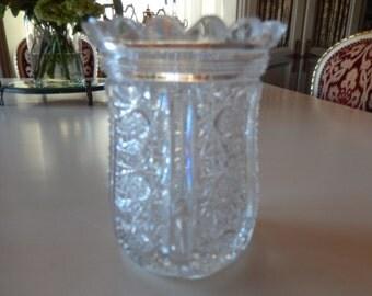 CUT GLASS SPOON Holder