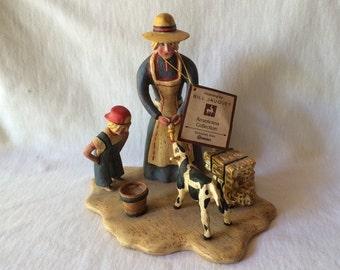 "Bill Jauquet ""Americana Collection"" Roman Figurine"