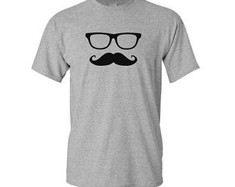 Mustache Shirt, Moustache Shirt, Geeky, Movember