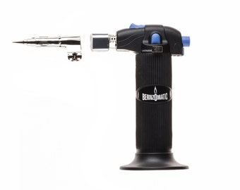 BernzOmatic Small Micro Torch Hand Tool 3 Interchangeable Settings With Fine Solder Hot Air Blower