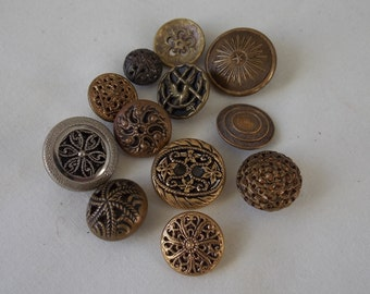 Vintage Buttons Twinkle Buttons Antique Buttons  B305