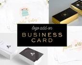 Logo Design Add-on Business Card Design - Single Sided