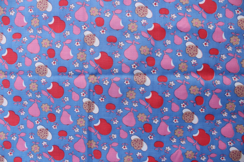 Soviet kids cotton sateen fabric vintage soviet fabric fabric for Kids cotton fabric