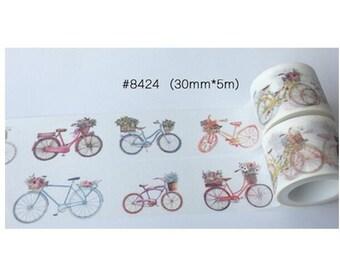 Bicycles Washi Tape/Japanese Washi Tape / Deco tape TZ858