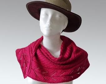 "Knitting pattern Snood, cowl, shawl ""Legolas"""
