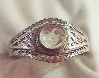 Moon Goddess Silver Bracelet