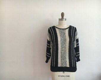 vintage 1990's knit sweater