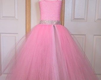 Pink Tutu/Pink Dress/Pink Flower Girl Dress/Other Colors Available
