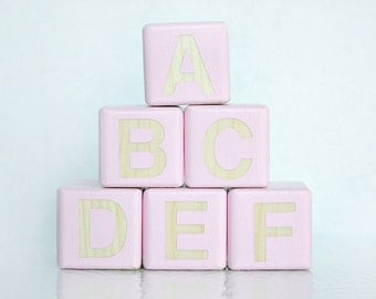 Wooden Blocks, Baby Blocks, Wooden Toys, Decorative Blocks, Nursery Decor, Personalized Baby Blocks, Custom Baby Blocks, Custom Nursery
