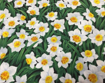 Daffodils from Timeless Treasures by the yard