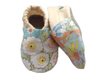 Floral Meadow Baby Shoes