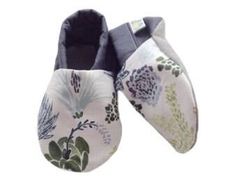Botanical Baby Shoes
