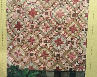 Primitive Patchworks Stars from the Past quilt pattern