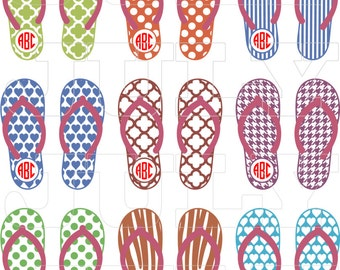 a14831e6d79f Alabama Flip flops svg file