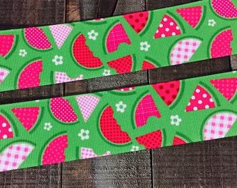Watermelon Ribbon, Summer Ribbon 1.5 inch