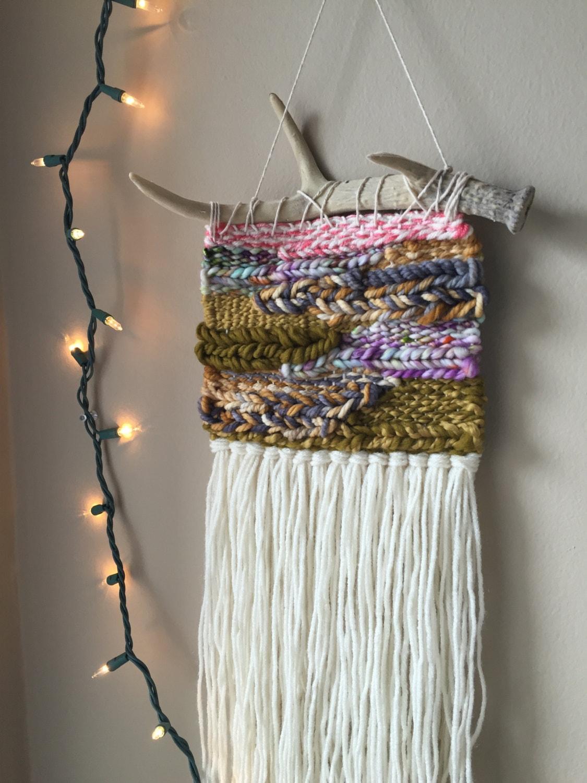 Woven Wall Hanging Bohemian Tapestries Weaving Wall