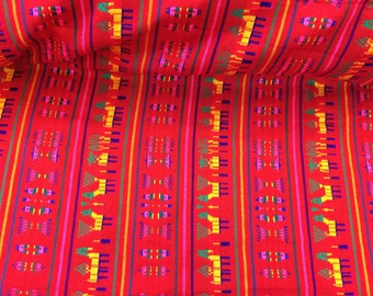 Mexican Colorful Acrylic Fabric